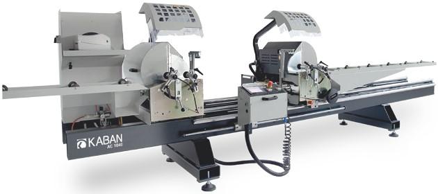 Оборудование для производства окон из ПВХ и Al, автоматический станок KABAN AC-1040 для резки профиля из ПВХ и Al