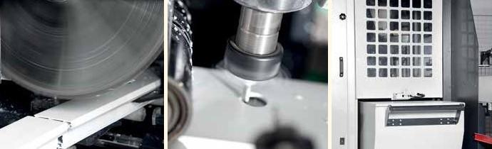 Автоматизированное оборудование для производства пластиковых окон, KABAN FA-1070 – линия подготовки профиля для изготовления оконных конструкций